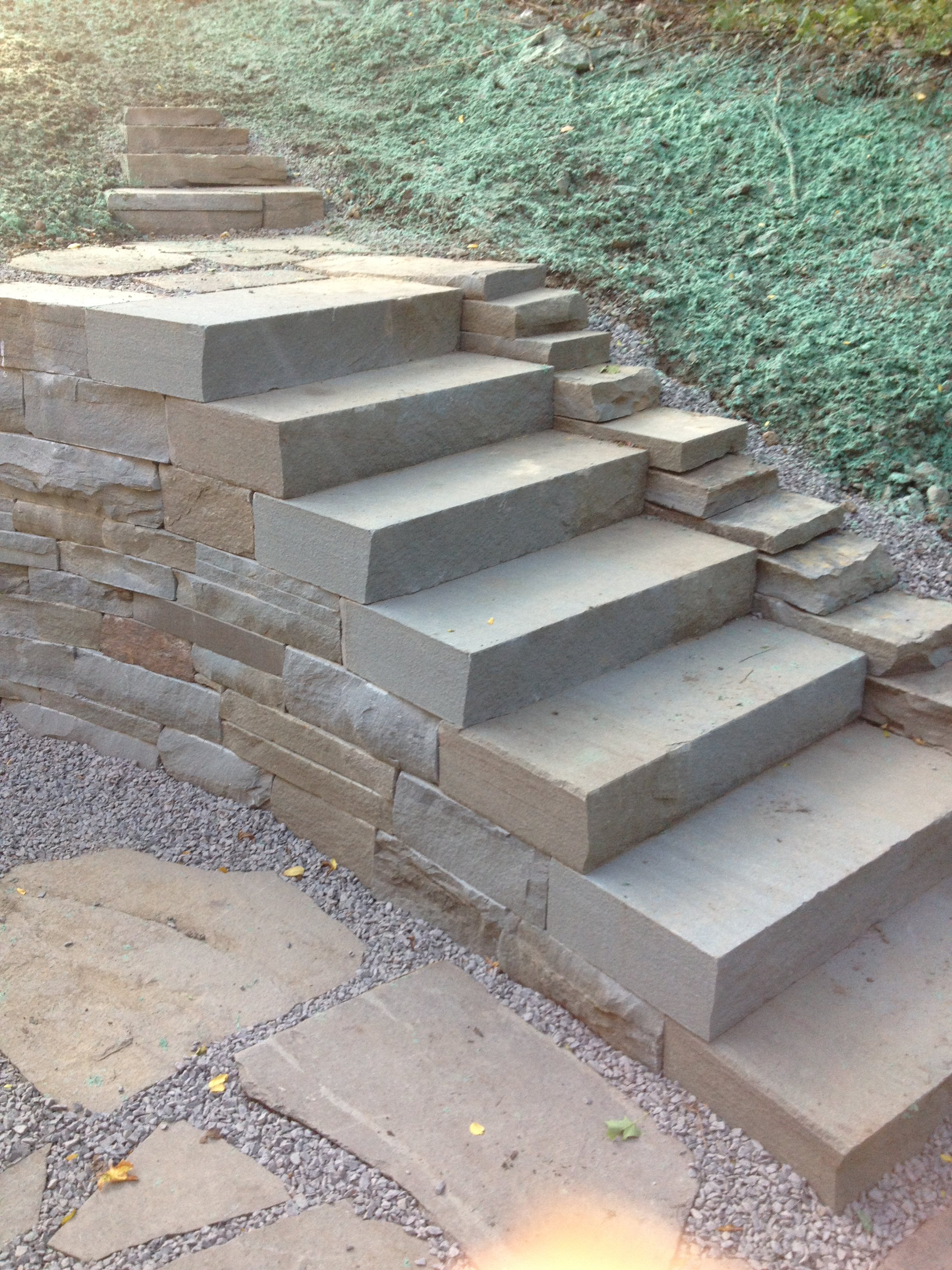 BrainStone Stonework: Stone Patios, Walkways, Walls And ...